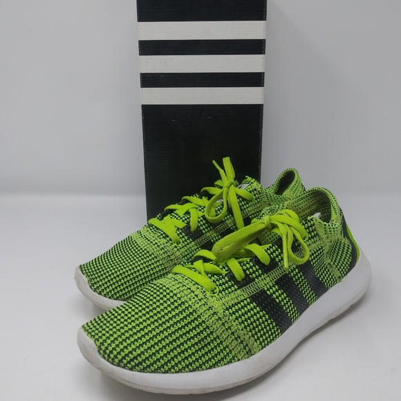 Adidas Element Refine Tricot Slime Green Trainers